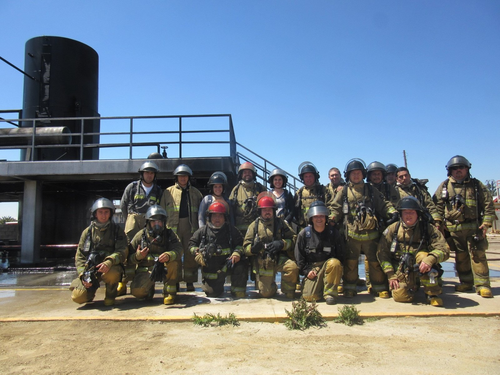 Fire-fighting Training Camp in Chile